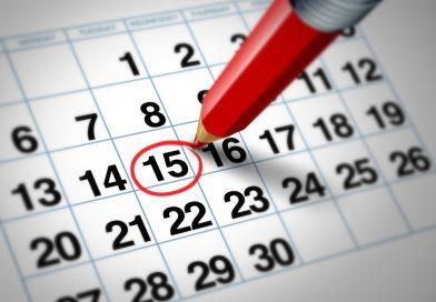 Calendario mese di Dicembre 2017